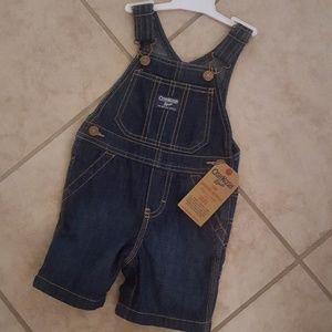 Oshkosh toddler jean overalls